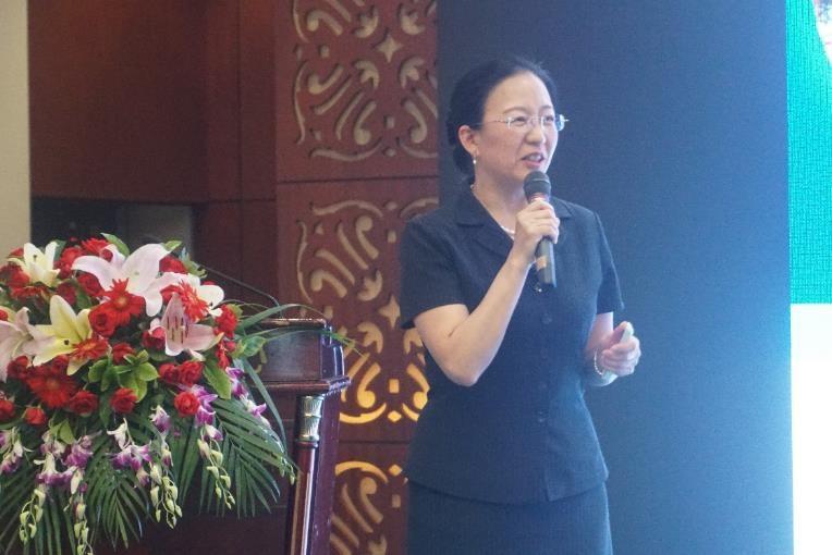 廣州市交通技師學院任惠霞院長致歡迎辭