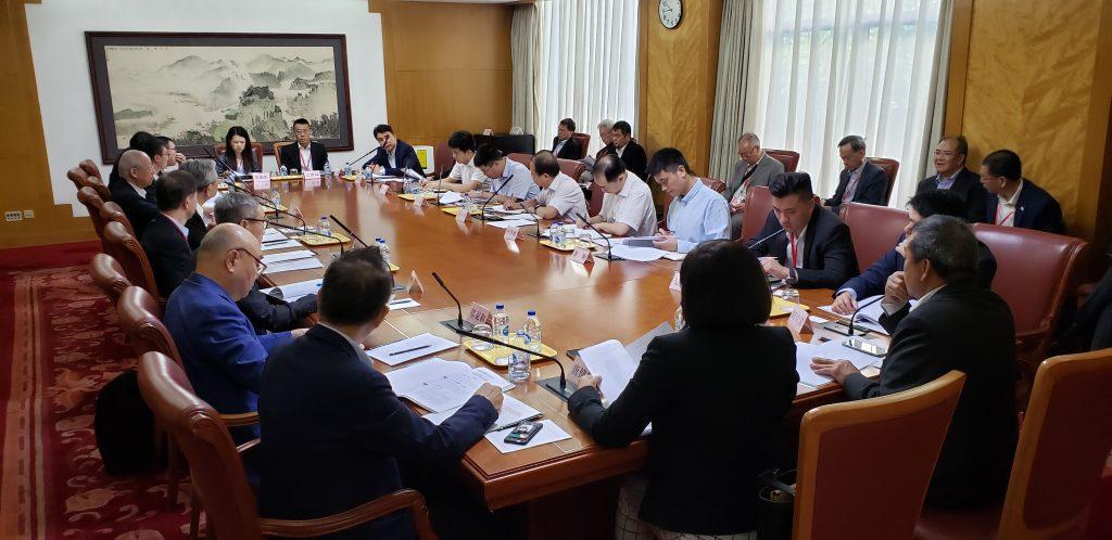 香港特別行政區航運交通界訪京團與部委代表會面交流