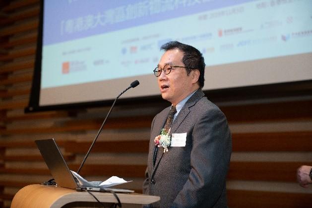 香港恒生大學供應鏈及資訊管理學系 系主任吳志雄博士致歡迎詞