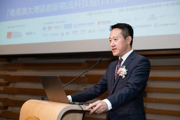 香港海關助理關長陳子達致詞