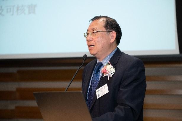 物流及供應鏈多元技術研發中心 黃廣揚行政總裁作主題演講